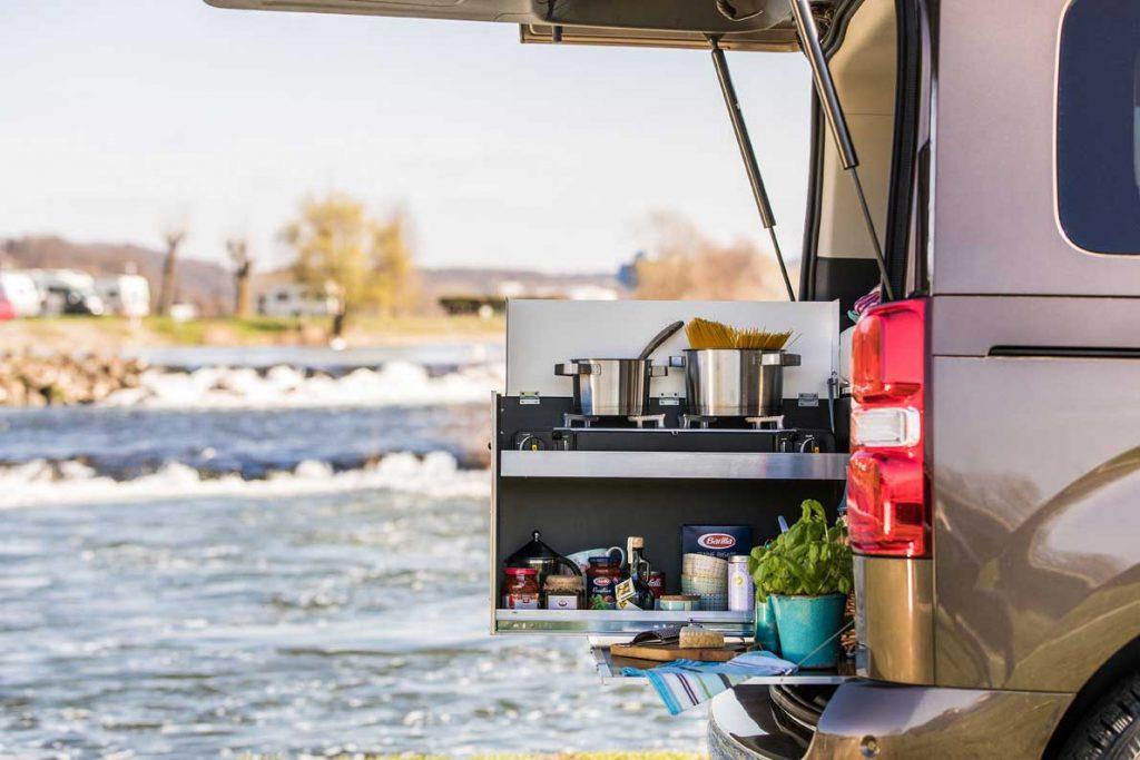 campingbox7 Alltagsfahrzeuge in ein Mini-Wohnmobil verwandeln